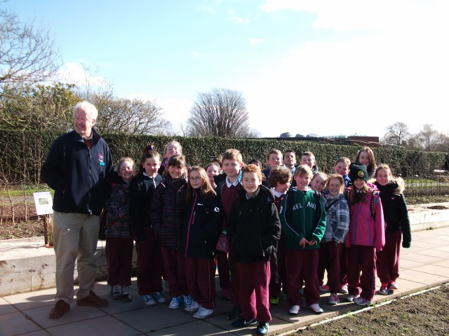 4th & 5th Classes visited the National Botanic Gardens for Tree Week